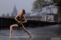 Dance As Art The New York Photography Project: Brooklyn Heights Promenade with dancer Natasha Neo Kai Lin