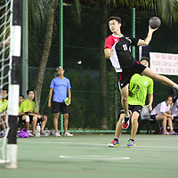 Singapore Polytechnic, Wednesday, October 2, 2013 &ndash; Defending champions Singapore Polytechnic (SP) overcame Republic Polytechnic (RP) 28&ndash;14 for their first win in the 3rd Invitational Handball Games.<br />