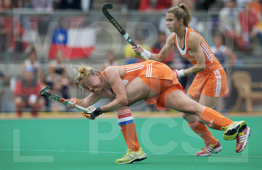 ROTTERDAM - Hock World League Semi Final Women<br /> Netherlands v Chile<br /> foto: Maartje Paumen pc<br /> FFU PRESS AGENCY COPYRIGHT FRANK UIJLENBROEK
