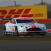#95 Aston Martin Vantage V8, Aston Martin Racing, LMGTE AM, Drivers: Nygaard/Poulsen/Simonsen, FIA WEC 6h 2013 Silverston