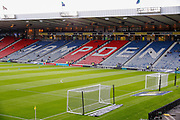 Scotland's National Stadium Starts to fill ahead of the UEFA European 2020 Qualifier match between Scotland and Russia at Hampden Park, Glasgow, United Kingdom on 6 September 2019.