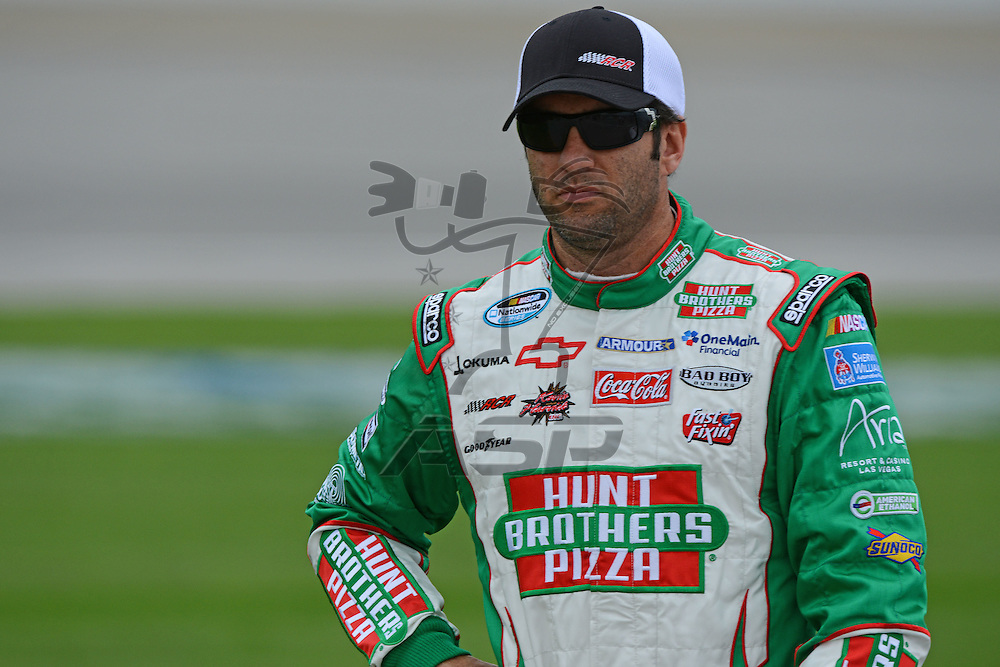 Joliet,Il - JUL 22, 2012: Elliot Sadler (2) during qualifying for the STP 300 at Chicagoland Speedway in Joliet, Il.