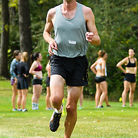 Iain Fyfe competes during the annual Cougar Trot on September 17 at Douglas Park. Credit: Arthur Ward/Arthur Images