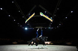 Mary Garrett, Kristian Roberts, (USA), Diva 506, Carolyn Bland - Pas de Deux Vaulting - Alltech FEI World Equestrian Games™ 2014 - Normandy, France.<br /> © Hippo Foto Team - Jon Stroud<br /> 04/09/2014