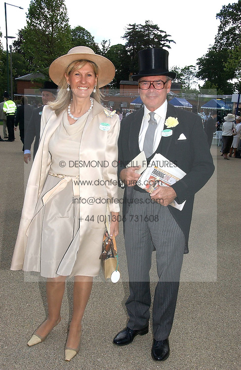 LORD &amp; LADY CHETWODE at the 3rd day - Ladies Day of Roayl Ascot 2006 on 22nd June 2006.<br /><br />NON EXCLUSIVE - WORLD RIGHTS