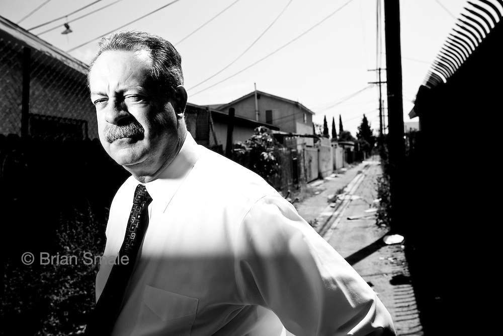 Detective Dennis Kilcoyne, shot in alley behind 1356 E 56th Street, where body of Barbara Ware was found.