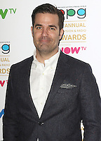 Rob Delaney, Broadcasting Press Guild 42nd Annual Television & Radio Awards, Theatre Royal Drury Lane, London UK, 11 March 2016, Photo by Brett D. Cove