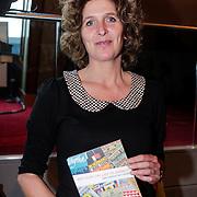 NLD/Amsterdam/20121129- Presentatie Jubileumboek 125 jaar historie Carre, Schrijfster van het boek Mariette Wolf