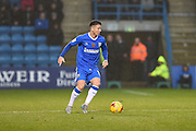 Gillingham midfielder Billy Knott (11)  during the EFL Sky Bet League 1 match between Gillingham and Northampton Town at the MEMS Priestfield Stadium, Gillingham, England on 12 November 2016. Photo by Martin Cole.