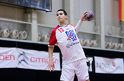 05.11.2016, SPORT. ZENTRUM Niederösterreich, St. Pölten, AUT, Invitational, Österreich vs Serbien, im Bild Uros Kojadinovic (SRB)// during the Invitational match between Austria and Serbia at the SPORT. ZENTRUM Niederösterreich, St. Pölten, Austria on 2016/11/05, EXPA Pictures © 2016, PhotoCredit: EXPA/ Sebastian Pucher