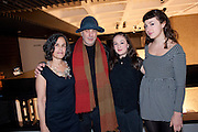 LEILA ARAD; RON ARAD; DARA ARAD; LAIL ARAD, Ron Arad; Restless. Cocktail reception hosted by Kate Bush of the Barbican and Tony Chambers of Wallpaper magazine. Barbican art Gallery. London. 17 September 2010