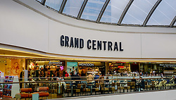Grand Central is a shopping centre located in Birmingham, England.  It is built directly over New Street railway station and also connects to the Bullring.<br /> <br /> (c) Andrew Wilson | Edinburgh Elite media