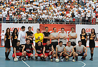 20090606: LISBON, PORTUGAL - Luis Figo Sagres Street Football - Luis Figo Sagres Street Football - Luis Figo Team vs Rui Costa Team. In picture: Pauleta, Rui Costa and Luis Figo Team. PHOTO: Alvaro Isidoro/CITYFILES