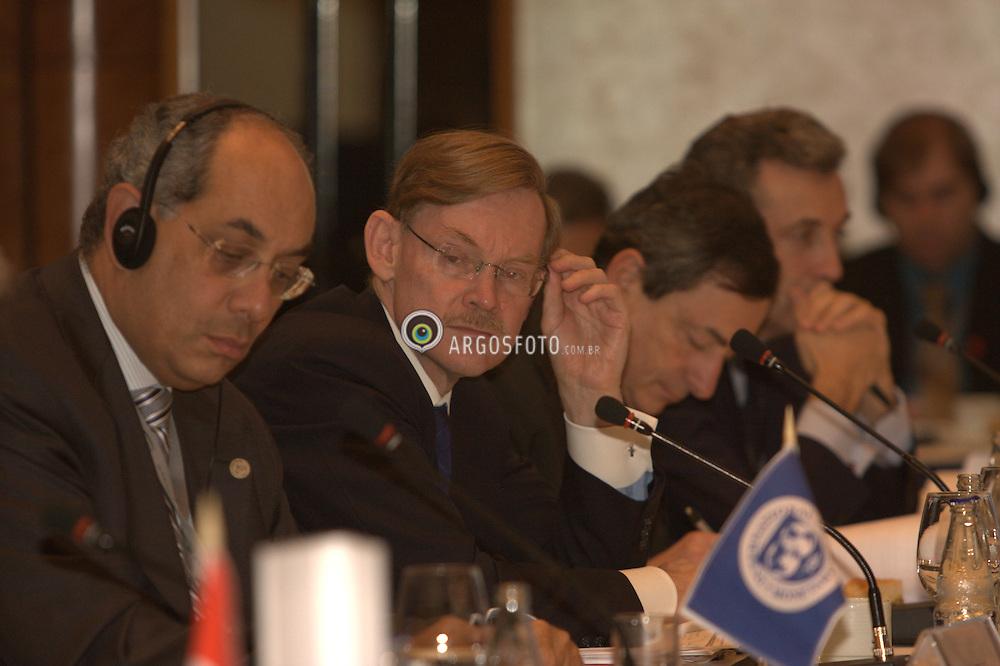 Sao Paulo, Brazil, November 8, 2008. G20 Meeting. Robert Zoellick, president of the World Bank Group. Photo Adri Felden/Argosfoto. Encontro do G20. Robert Zoellick, presidente do Banco Mundial.Foto Adri Felden/Argosfoto