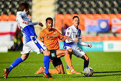 Manny Duku of Barnet challenges Kyle Bennett of Bristol Rovers  - Mandatory by-line: Ryan Hiscott/JMP - 11/11/2018 - FOOTBALL - The Hive - Barnet, England - Barnet v Bristol Rovers - Emirates FA Cup first round proper