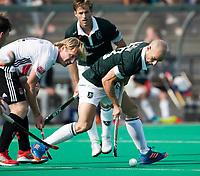 ROTTERDAM - Nick Catlin (R'dam) met Klaas Vermeulen (A'dam)   bij de finale Rotterdam-Amsterdam van de ABN AMRO cup 2017 . COPYRIGHT KOEN SUYK