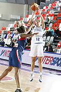 DESCRIZIONE : Valmiera Latvia Lettonia Eurobasket Women 2009 Francia Italia France Italy<br /> GIOCATORE : Raffaella Masciadri<br /> SQUADRA : Italia Italy<br /> EVENTO : Eurobasket Women 2009 Campionati Europei Donne 2009 <br /> GARA : Francia Italia France Italy<br /> DATA : 07/06/2009 <br /> CATEGORIA : tiro<br /> SPORT : Pallacanestro <br /> AUTORE : Agenzia Ciamillo-Castoria/E.Castoria<br /> Galleria : Eurobasket Women 2009 <br /> Fotonotizia : Valmiera Latvia Lettonia Eurobasket Women 2009 Francia Italia France Italy<br /> Predefinita :