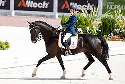 Rixt van der Horst, (NED), Uniek - Individual Test Grade II Para Dressage - Alltech FEI World Equestrian Games™ 2014 - Normandy, France.<br /> © Hippo Foto Team - Jon Stroud <br /> 25/06/14