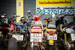 Motorbikes in Chiang Mai
