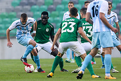 during football match between NK Olimpija Ljubljana and ND Gorica in Round #11 of Prva liga Telekom Slovenije 2017/18, on October 1, 2017 in SRC Stozice, Ljubljana, Slovenia. Photo by Matic Klansek Velej / Sportida