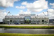 (L-R) Cars Jeans stadion of ADO Den Haag