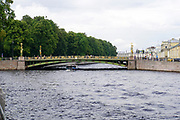 river cruise, Saint Petersburg, Russia
