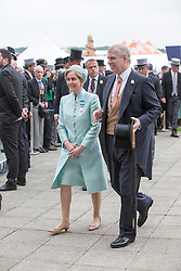 EPSOM- UK - 4th June-2016: The Duke of York  attend Epsom Races in Surrey to watch the Derby Horserace.<br /> <br /> Photo by Ian Jones