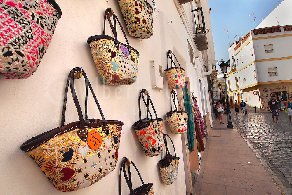 Alberto Carrera, Souvenirs Shop, Old Town, Tarifa, Cádiz Province, Andalusia, Spain, Europe