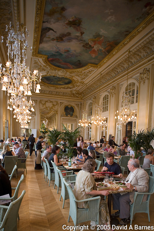 Musee d'Orsay, dining room, Paris, France