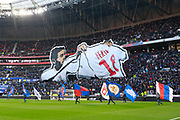 Nabil Fekir of Lyon during the French Championship Ligue 1 football match between Olympique Lyonnais and AS Saint-Etienne on february 25, 2018 at Groupama stadium in Décines-Charpieu near Lyon, France - Photo Romain Biard / Isports / ProSportsImages / DPPI