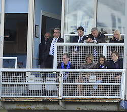 The Bristol Rovers board look on - Photo mandatory by-line: Joe Meredith/JMP - Mobile: 07966 386802 03/05/2014 - SPORT - FOOTBALL - Bristol - Memorial Stadium - Bristol Rovers v Mansfield - Sky Bet League Two