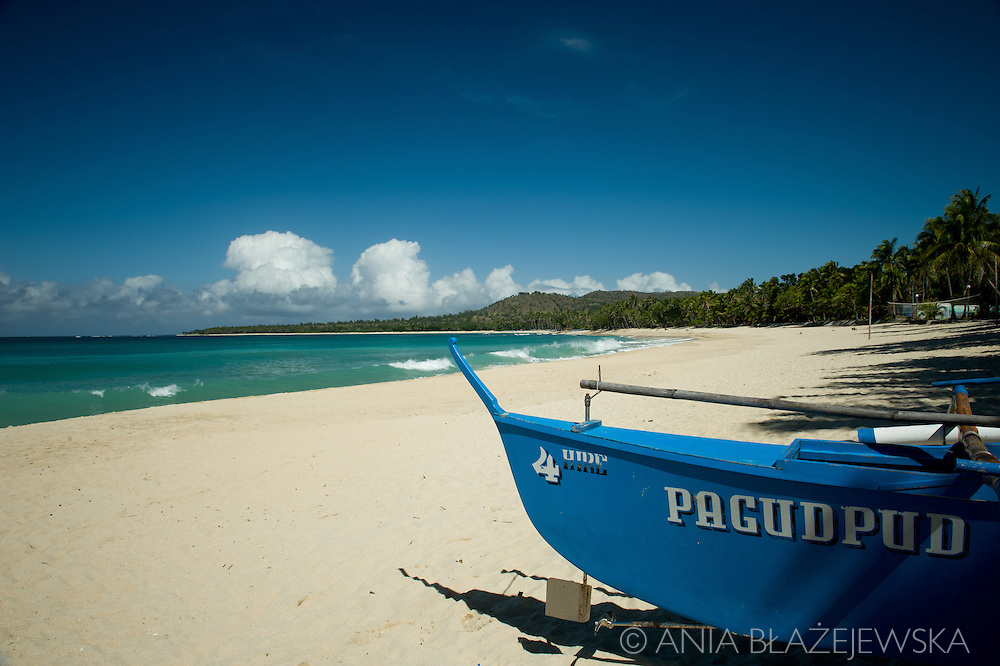 Tropical beach of Pagudpud.<br />