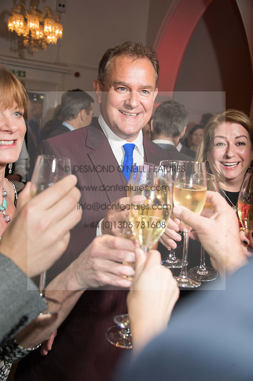 HUGH BONNEVILLE at a gala dinner to celebrate 15 Years of mothers2mothers hosted by Annie Lennox held at One Marylebone, 1 Marylebone Road, London NW1on 3rd November 2015.