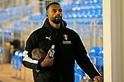Michael Ihiekwe arrives before the The FA Cup match between Solihull Moors and Rotherham United at the Automated Technology Group Stadium, Solihull, United Kingdom on 2 December 2019.