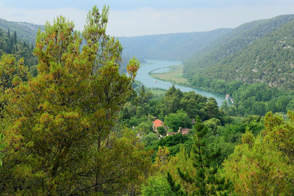 Europe, Balkan, Croatia,Krka National Park, Skradinski Buk