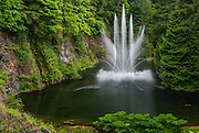 Ross Fountain at Butchart Gardens Canada