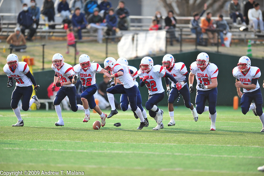 Team USA vs Team Japan.U-19 Global Challenge Bowl