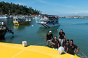 Some of the the crew from Mirissa Water Sports.<br />