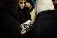 Fornace, Rho. 17 gennaio 2008. Manifestazione conto lo sgombero del centro sociale: irruzione al consiglio comunale.