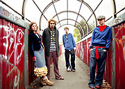 A group of teenagers / indie kids, Bristol, 2003