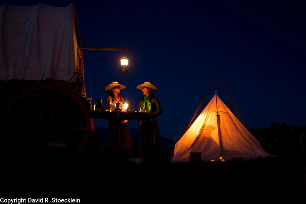 Keri Trexler & Laura Grover, Trexler Angus Ranch, Hamilton, Montana