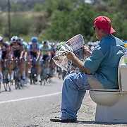 California race fans continue to push the envelope on roadside enthusiasm.