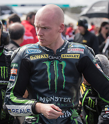 October 23, 2016 - Melbourne, Victoria, Australia - British rider Bradley Smith (#38) of Monster Yamaha Tech 3 on the grid before the MotoGP category race at the 2016 Australian MotoGP held at Phillip Island, Australia. (Credit Image: © Theo Karanikos via ZUMA Wire)