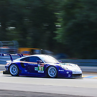 #91, Porsche Motorsport, Porsche 911 RSR, LMGTE Pro, driven by: Richard Lietz, Gianmaria Bruni, Frederic Makowiecki, 24 Heures Du Mans  2018, , 16/06/2018,