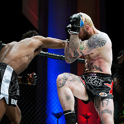 PETER IRVING BLOCKS AND DEFLECTS A PUNCH - UCMMA 34 2 JUNE 2013