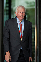 © Licensed to London News Pictures. 12/09/2012. LONDON, UK. Sir David Walker, the chairman of Barclay's Bank, is seen outside Portcullis House in London today . Photo credit: Matt Cetti-Roberts/LNP
