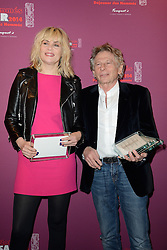 Emmanuelle Seigner and Roman Polanski arriving at the 39th annual Cesar film Awards lunch held at the Fouquet's in Paris, France on February 8, 2014. Photo by Nicolas Briquet/ABACAPRESS.COM  | 432971_053 Paris France