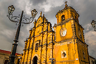 Leon; Nicaragua; May 2014. The Iglesia de la Recolección. León is the second largest city in Nicaragua. It was founded by the Spaniards as León Santiago de los Caballeros and rivals Granada; Nicaragua; in the number of historic Spanish colonial churches; secular buildings; and private residences. Central America's largest and least populated country consists of lakes; volcanoes and Spanish colonial cities. Photo by Frits Meyst / MeystPhoto.com