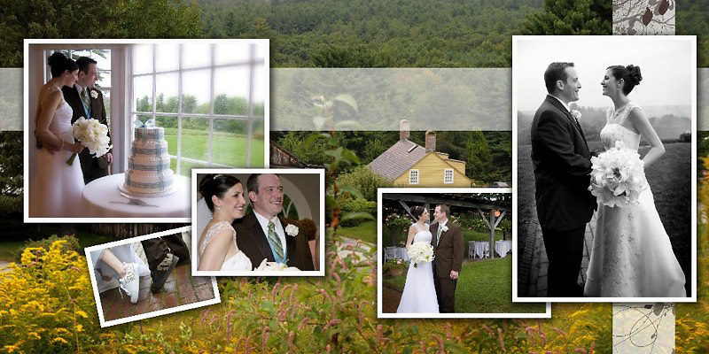 Wedding Album - Melissa and Michael - Fruitlands Museum