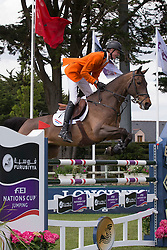 Schuttert Frank (NED) - Winchester HS <br /> Furusiyya FEI Nations Cup<br /> CSIO La Baule 2013<br /> © Dirk Caremans